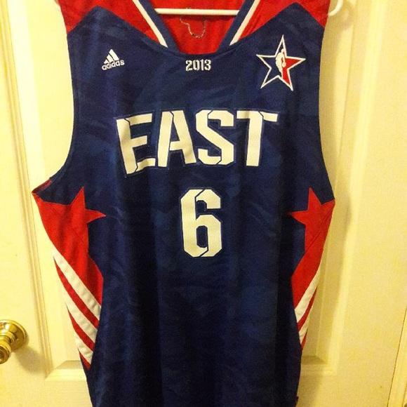 online store 3e170 03314 Lebron James Miami Heat All Star Jersey